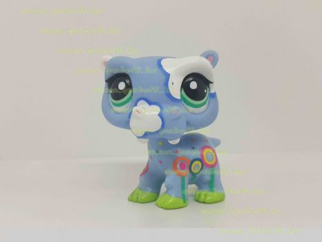 Littlest Pet Shop LPS víziló figura (használt)