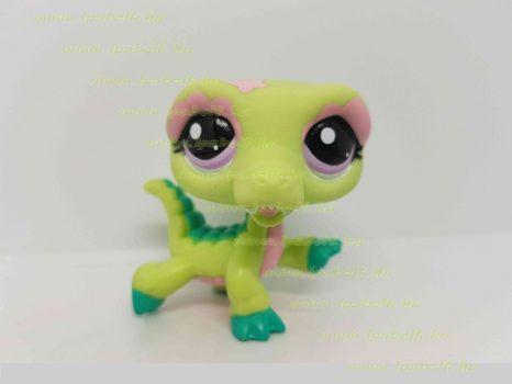 Littlest Pet Shop LPS krokodil figura (használt)