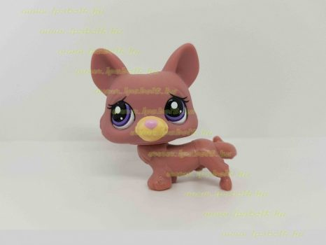 Littlest Pet Shop LPS corgy kutya figura (használt)