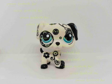 Littlest Pet Shop LPS dalmata kutya figura (használt)