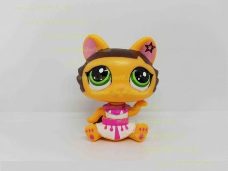 Littlest Pet Shop LPS mozgó cica figura (használt)