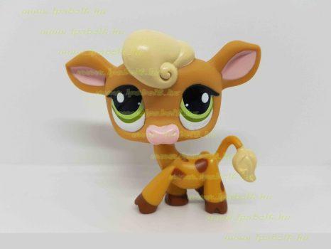 Littlest Pet Shop LPS tehén figura (használt)