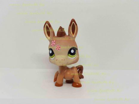 Littlest Pet Shop LPS szamár figura (használt)