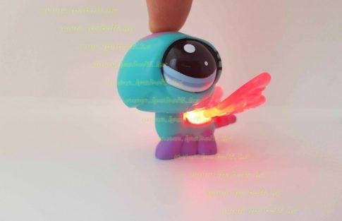Littlest Pet Shop LPS világítós szitakötő figura (használt)