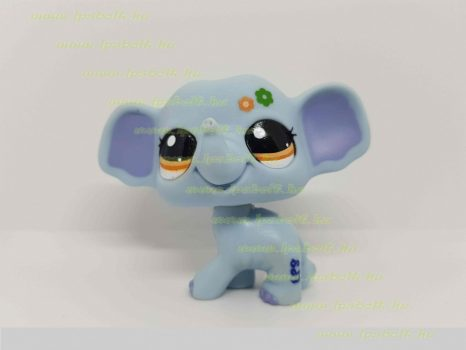 Littlest Pet Shop LPS elefánt figura (használt)