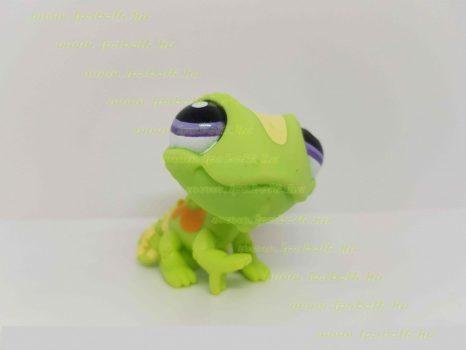 Littlest Pet Shop LPS kaméleon figura (használt)