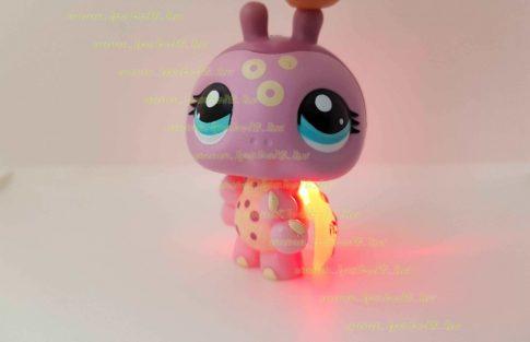 Littlest Pet Shop LPS világítós katica figura (használt)