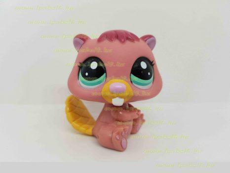 Littlest Pet Shop LPS hód figura (használt)