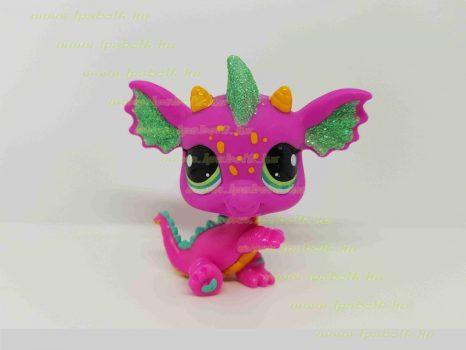 Littlest Pet Shop LPS sárkány figura (használt)