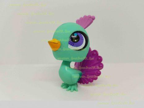 Littlest Pet Shop LPS páva figura (használt)