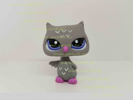 Littlest Pet Shop LPS bagoly figura (használt)