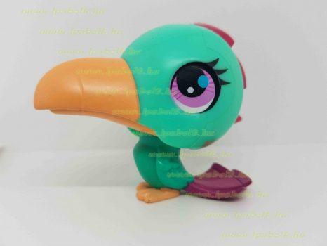 Littlest Pet Shop LPS hangot kiadó madár figura (használt)