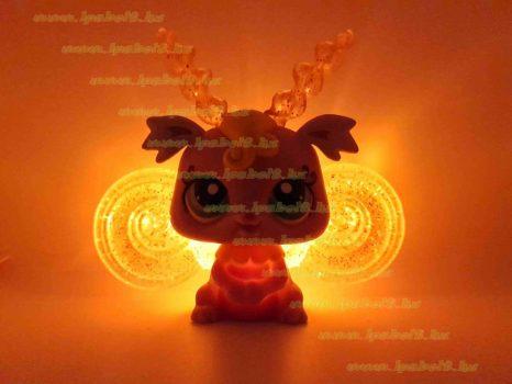 Littlest Pet Shop LPS világítós tündér figura (használt)