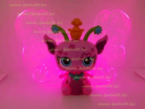 Littlest Pet Shop LPS óriás világítós tündér figura (használt)