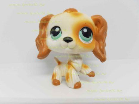 Littlest Pet Shop LPS spániel kutya figura (használt)