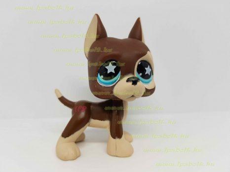 Littlest Pet Shop LPS dán dog kutya figura (használt)