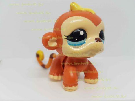 Littlest Pet Shop LPS mozgó majom figura (használt)