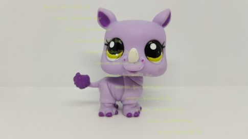 Littlest Pet Shop LPS orrszarvú figura (használt)