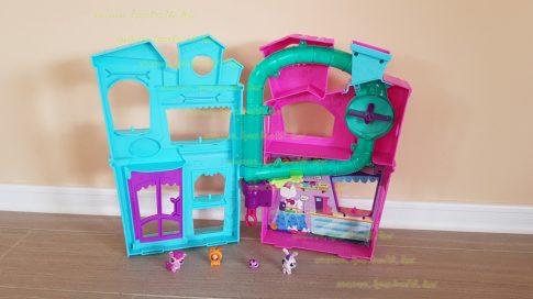 Littlest Pet Shop LPS játszóház (használt)