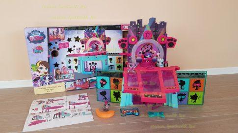Littlest Pet Shop LPS Pawza Hotel eredeti dobozában, hiánytalan (használt)