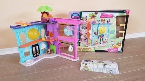 Littlest Pet Shop LPS ház eredeti dobozában, hiánytalan (használt)
