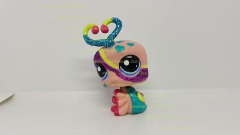 Littlest Pet Shop LPS  kukac figura (használt, szépséghibás)