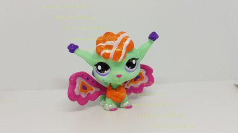 Littlest Pet Shop LPS tündér figura (használt, szépséghibás)