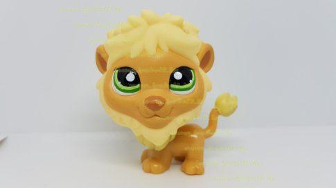 Littlest Pet Shop LPS oroszlán figura (használt, szépséghibás)