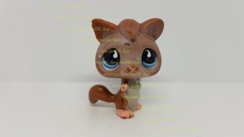 Littlest Pet Shop LPS mókus figura (használt, szépséghibás)