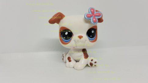 Littlest Pet Shop LPS kutya figura (használt, szépséghibás)