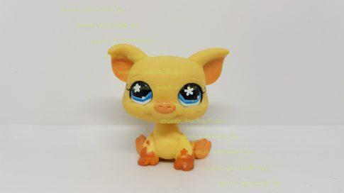 Littlest Pet Shop LPS malac figura (használt, szépséghibás)