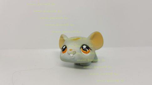 Littlest Pet Shop LPS béka figura (használt, szépséghibás)