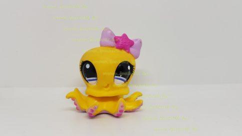 Littlest Pet Shop LPS polip figura (használt, szépséghibás)