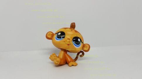Littlest Pet Shop LPS majom figura (használt, szépséghibás)