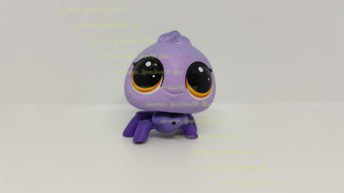 Littlest Pet Shop LPS pók figura (használt, szépséghibás)