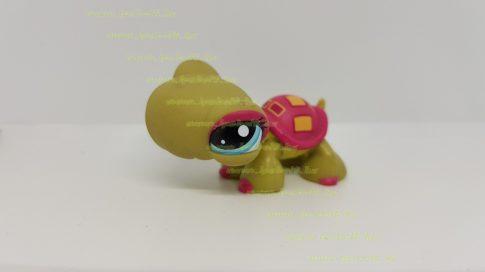 Littlest Pet Shop LPS teknős figura (használt, szépséghibás)