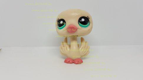 Littlest Pet Shop LPS hattyú figura (használt, szépséghibás)