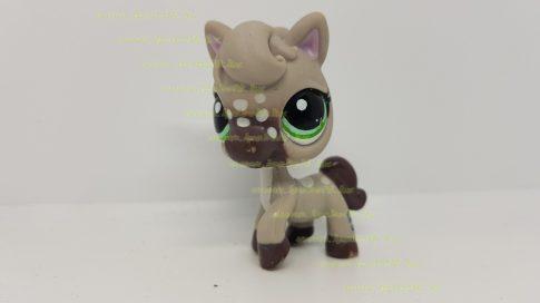 Littlest Pet Shop LPS ló figura (használt, szépséghibás)