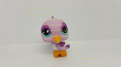 Littlest Pet Shop LPS madár figura (használt, szépséghibás)