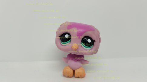 Littlest Pet Shop LPS bagoly figura (használt, szépséghibás)