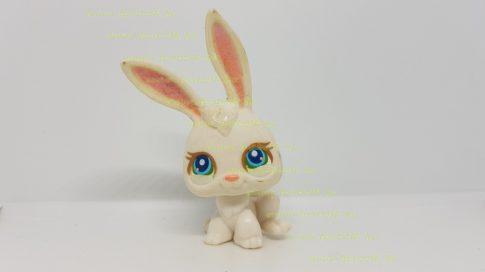 Littlest Pet Shop LPS nyuszi figura (használt, szépséghibás)
