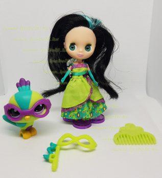 Littlest Pet Shop LPS Blythe baba figurával és kiegészítőkkel (használt)
